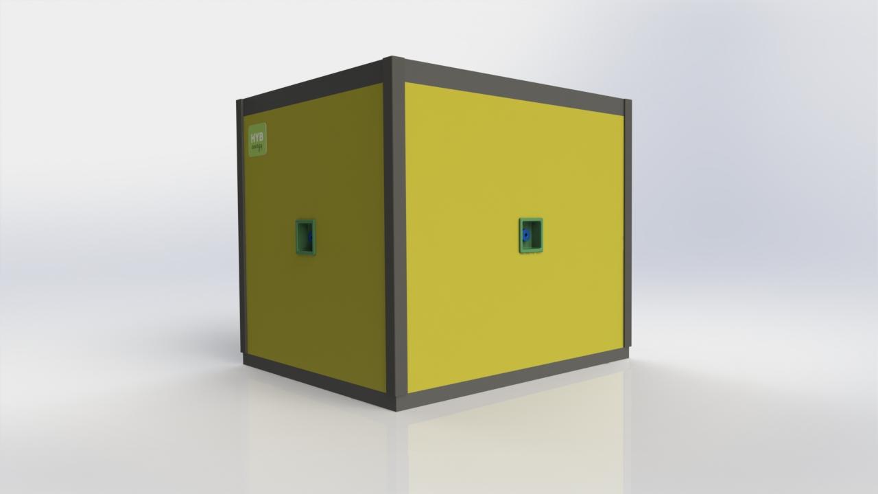 HYB Construction Cube